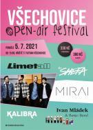 Všechovice OPEN-AIR festival pondělí 5. 7. 2021 1
